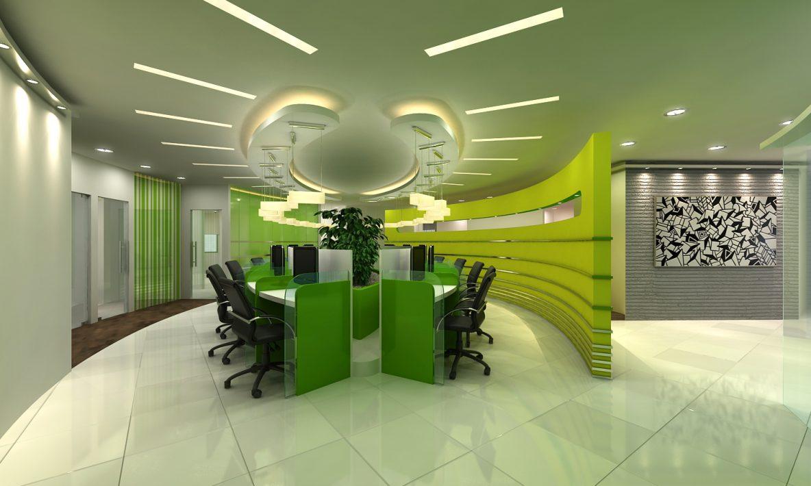 Eccentrically Arranged Workstations