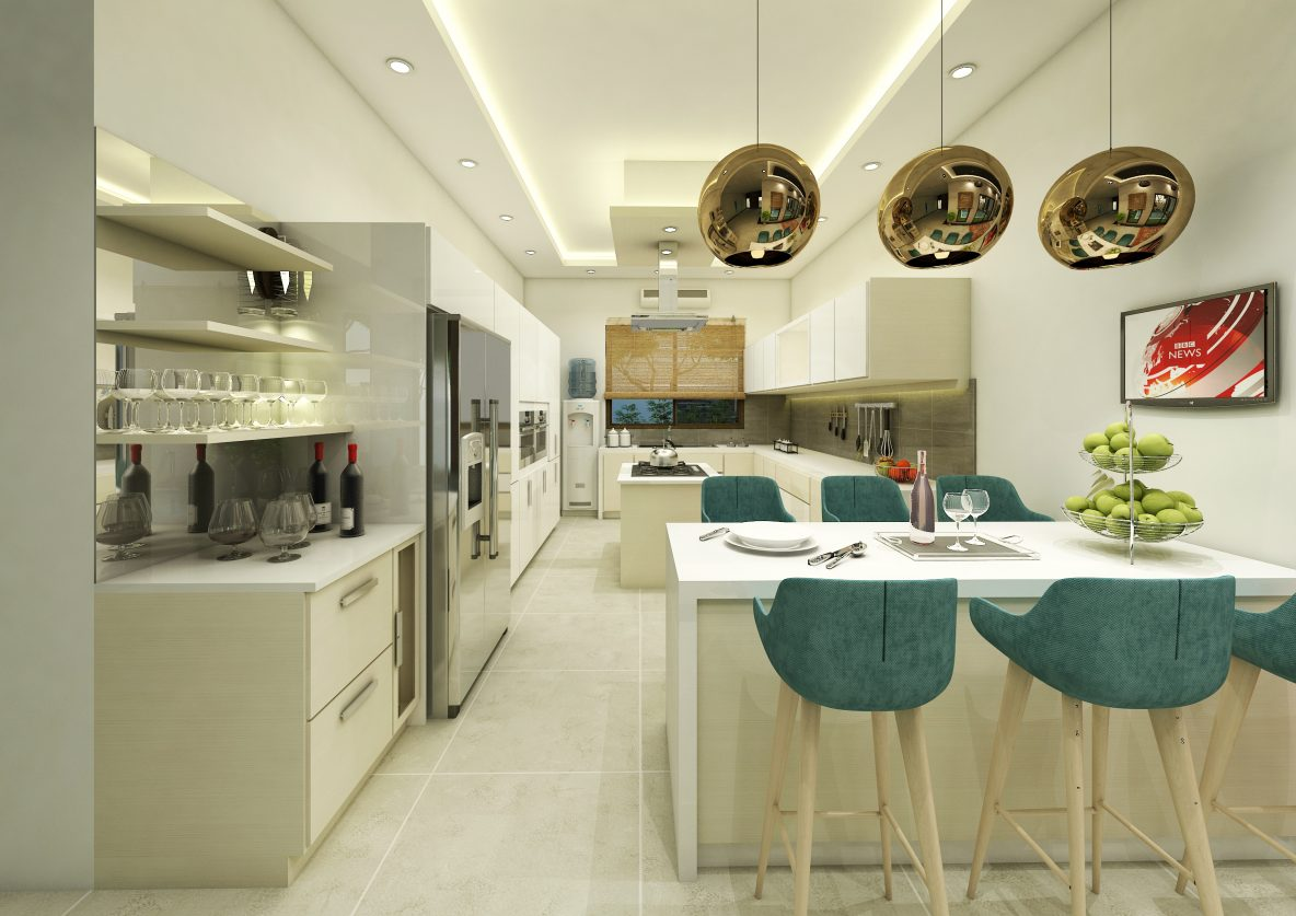 Grand Kitchen Plan and Design