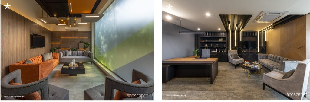 Interior Design of a Leading IT Firm