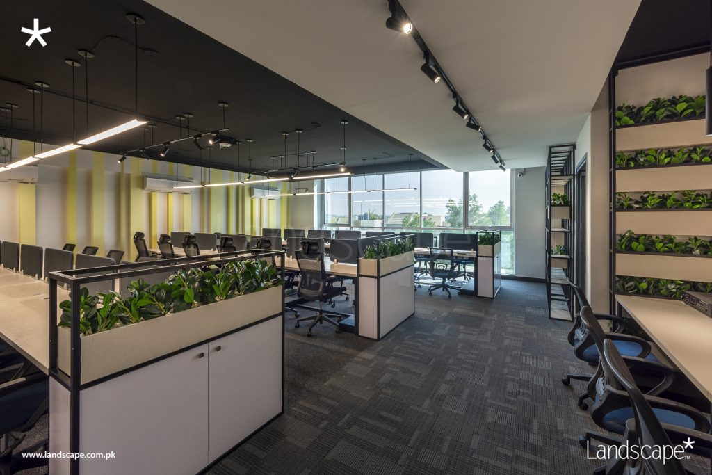 Workstations of an IT Office