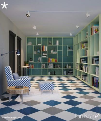 Study Room, English Interiors