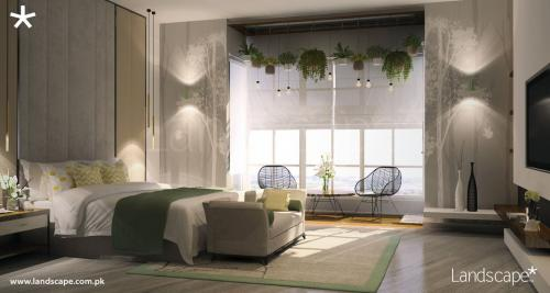 Play of Nature and Natural, Subtle Color Palette in the Bedroom