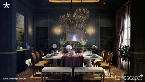 Luxurious Formal Dining Experience