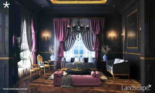 Modern French Drawing Room