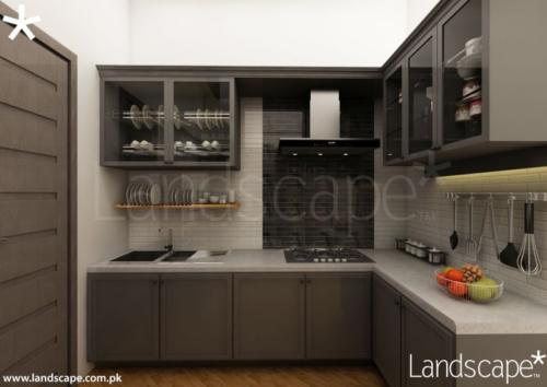 Dirty Kitchen Cabinetry