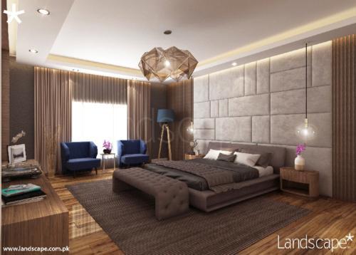 5. Modern Master Bedroom Interior