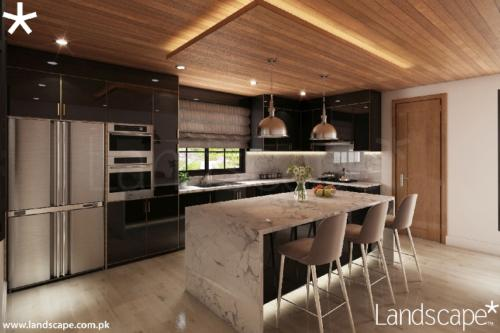 6. Sleek Kitchen Interiors