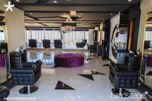 Luxury Salon Interior