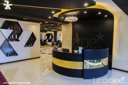 Reception in Luxury Salon