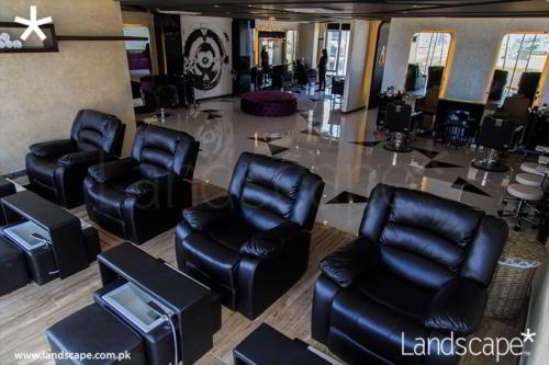 Spa Area in Salon
