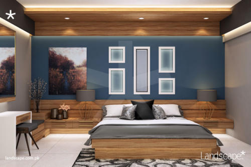 Bedroom-Design-and-Decor-with-Ample-Storage-within-Furniture