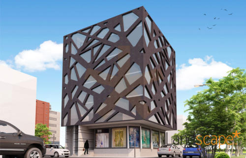 commercial-building-elevation
