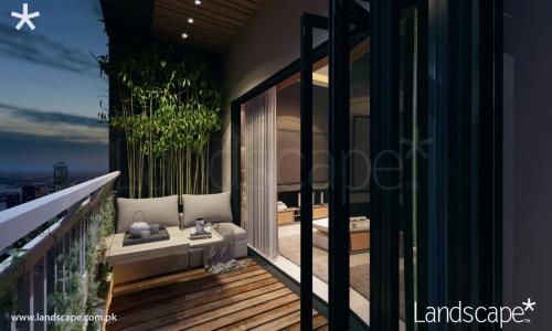 Airy Balcony