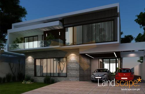Contemporary-house-facade