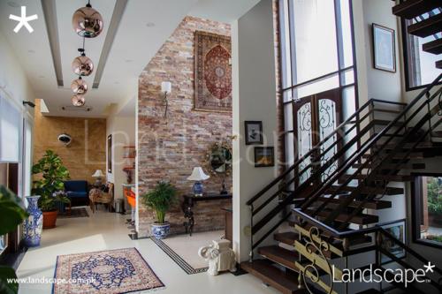 Corridor-Foyer-Staircase