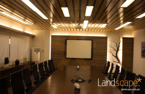 Conference-Table-Chester-Feature-Wall-and-Ceiling