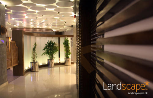 Jaffery-Wood-Use-by-Landscape-Craftsman-Team-Also-Showing-Cow-Boy-Door-in-an-Overall-View-of-the-Lobby