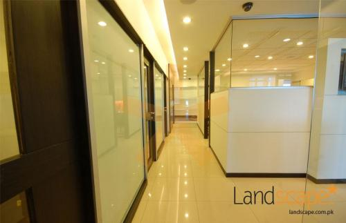 Corridor Displaying Entrance to Various Departments