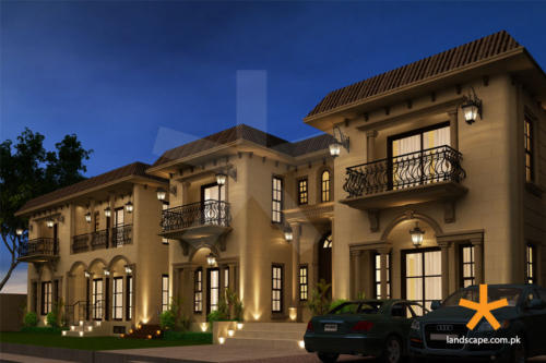 Mouldings-and-Balconies-in-Spanish-Themed-Architecture