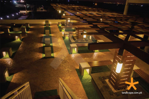 Night-View-of-the-Designed-and-Constructed-Terrace