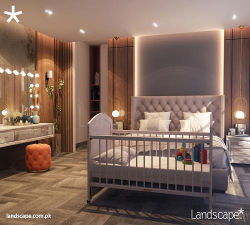 Well-lit Masterbedroom