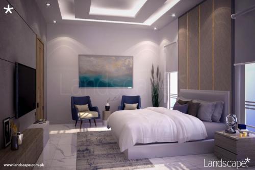 Minimalistic Bedroom Interiors