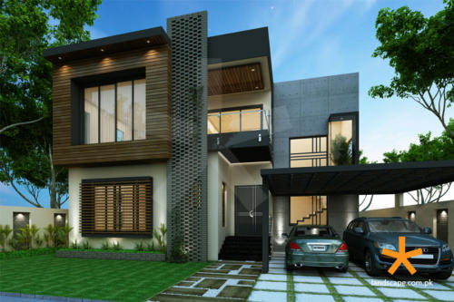 Architect-Designed-Modern-House-Elevation