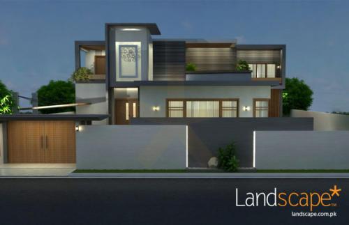 Modern-Exterior-Facade-of-House