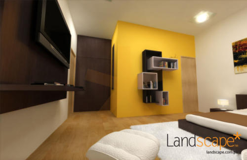 Bedroom-Interiors-in-a-Residence-at-Khayaban-e-Hilal