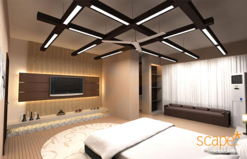 Contemporary-Bedroom-Ceiling-Design