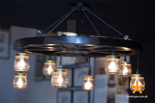 hand-made-chandelier-with-small-pendant-lamps
