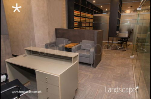 Reception and Workspace Fit-Outs