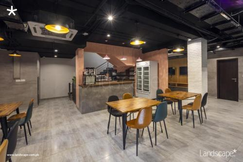 Basement Cafe with a hint of flair