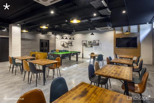 Recreational Cafe for the Employees to Unwind and Relax