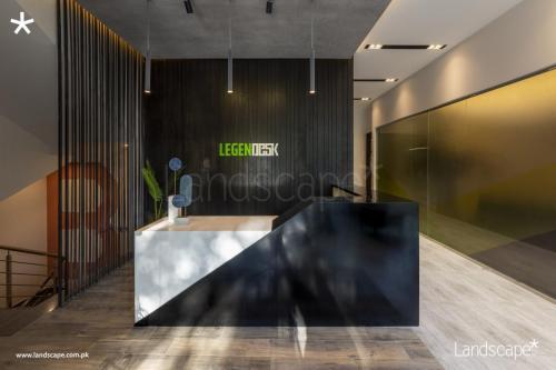 Sleek Design for the Reception