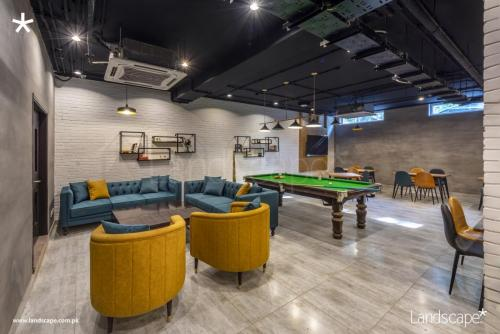 View with the Pool Table