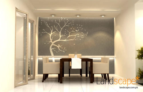 Dining-Room-of-Luxurious-Apartment