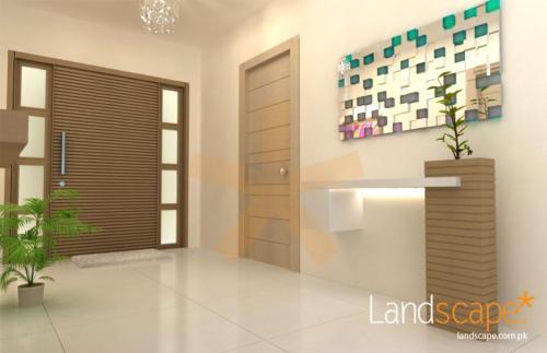 Interior-Design-Foyer-of-an-Apartment