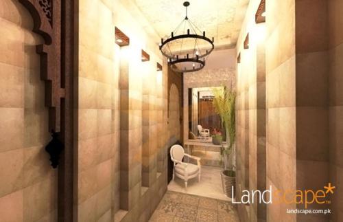 corridor-in-arabic-theme