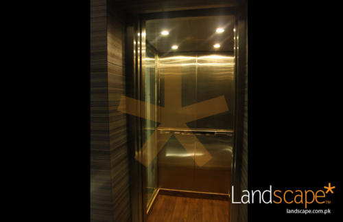 Elevator-with-Wooden-Floor--Concealed-Lights