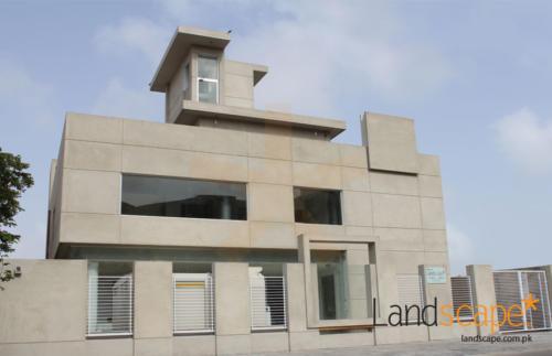 Pharamaceutical-Office-Building-Elevation