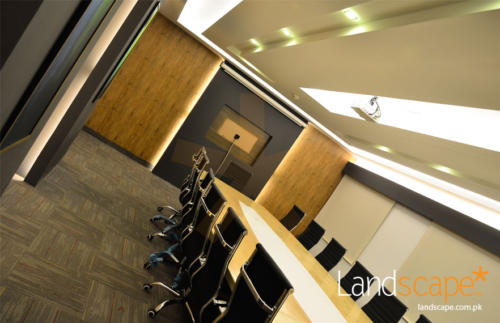 Conference-Room-Ceiling-Table-and-Feature-Wall-Design