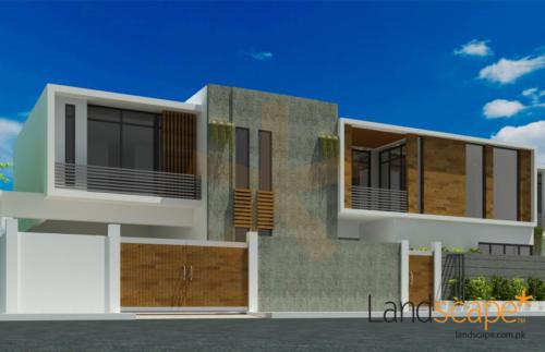 Facade-Design-of-House-500-SQYD