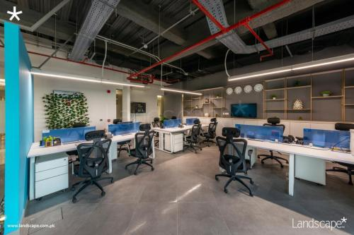 Workstations Exemplifying Efficient Design and Planning Skills