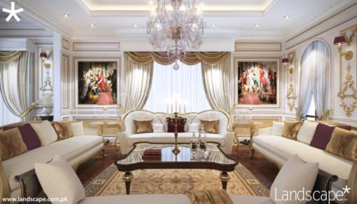 Drawing Room Luxury Interior