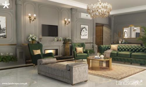 Classic Living Room Interiors